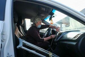 Зеленоглазая в такси