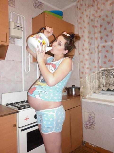 Частное фото беременных девушек