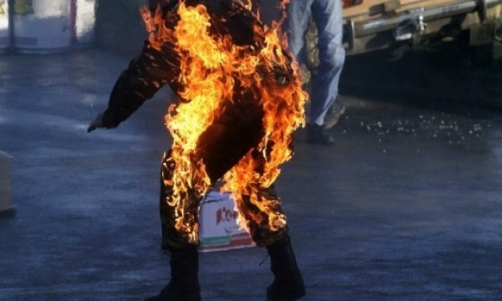 Картинки по запросу человек в огне